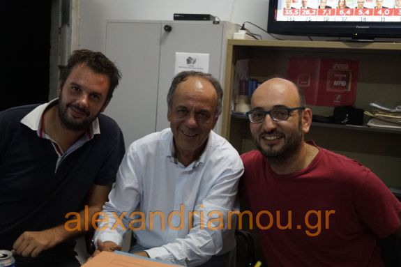 Oι πρώτες εικόνες από το Εκλογικό Κέντρο του ΣΥΡΙΖΑ στην Αλεξάνδρεια - Βουλευτής ο Χρήστος Αντωνίου