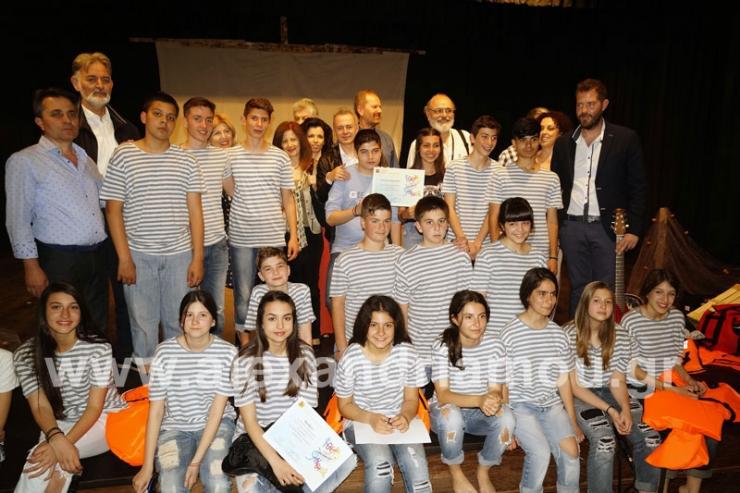 Σάρωσαν τα βραβεία:2ο Γυμνάσιο. 1ο ΓΕΛ, ΕΠΑΛ Αλεξάνδρειας στην 4η Θεατρική Άνοιξη Γυμνασίων-Λυκείων Ημαθίας-Πέλλας-Πιερίας
